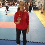 La ciudadrealeña Patricia Maldonado se proclama subcampeona de España de kárate en categoría cadete