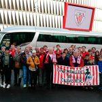 La peña del Athletic estará presente este domingo en San Mamés en el duelo contra el Villarreal