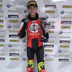 El piloto puertollanero Quique López finaliza segundo en la prueba de resistencia de la Copa Honda CBR 300