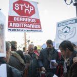 Cientos de firmas por el indulto para los condenados a demoler su viviendas en La Pedregosa y El Chaparrillo