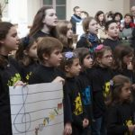 El Coro Infantil y Juvenil de Ciudad Real estrena su repertorio junto al Belén Municipal