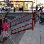 Alumnos del CEIP Santo Tomás de Villanueva descubren las deficiencias en accesibilidad del centro