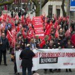 Los sindicatos exigen al Gobierno de Rajoy «un cambio de rumbo» en la política económica y laboral