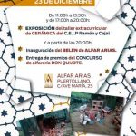 Puertollano: El tradicional belén de Alfar Arias podrá visitarse a partir de este viernes