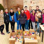 Valverde: El Bombazo recoge 206 kilos para el Banco de Alimentos