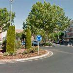 Trasladan al hospital a un ciclista accidentado en una rotonda de Ciudad Real