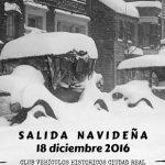 El Club Vehículos Históricos de Ciudad Real organiza el domingo una salida navideña por la provincia