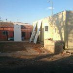 Ciudad Real: Comienzan a desmantelar los barracones del colegio de Valverde