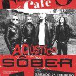 Puertollano: Sôber tocará en acústico en el Francis Café el próximo mes de febrero