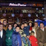 Ciudad Real: El Ayuntamiento encendido