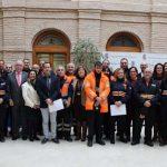Olmedo entrega diverso material de asistencia y emergencia a siete Agrupaciones de Voluntarios de Protección Civil de la zona de Alcázar de San Juan
