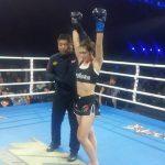 Puertollano: Sheila García gana por KO en la cuna de las artes marciales durante el prestigioso WLF