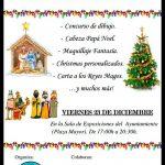La Asociación Juvenil El Quijote celebra la Navidad con talleres en la Plaza Mayor