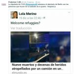 Ciudad Real: Una concejala es criticada en las redes por relacionar el atentado de Berlín con los refugiados