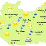 Frío intenso y ¿nieve en Ciudad Real?