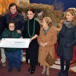 El Belén Municipal del Antiguo Casino recoge 1.828 euros para Down Caminar