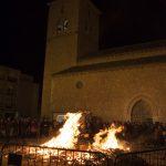 Ciudad Real: Fuego en el Perchel en honor a San Antón