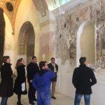 Bolaños de Calatrava: Prosigue la restauración de las pinturas de la ermita del Santísimo Cristo de la Columna