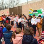 El CEIP Ferroviario celebra el Día de la Paz