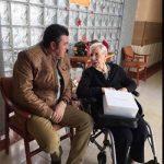 El Ayuntamiento de Villamayor de Calatrava visita a los vecinos ingresados en residencias de mayores de la provincia