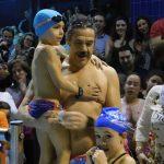 Daimiel: Paco Fernández Bravo consigue su reto de permanecer 24 horas nadando ininterrumpidamente