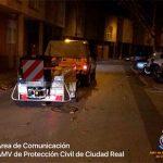 Sal a punta pala: El operativo especial por las heladas vigila las vías de la capital