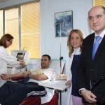 El nuevo servicio de donación de plasma comienza a funcionar sin incidencias en el Hospital de Puertollano