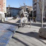 Plaza Cervantes: continúan los preliminares