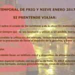 Protección Civil Ciudad Real informa: Consejos de autoprotección contra la ola de frío