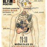Ciudad Real: Slam Poetry comienza el año poético con Esteve Bosch de invitado