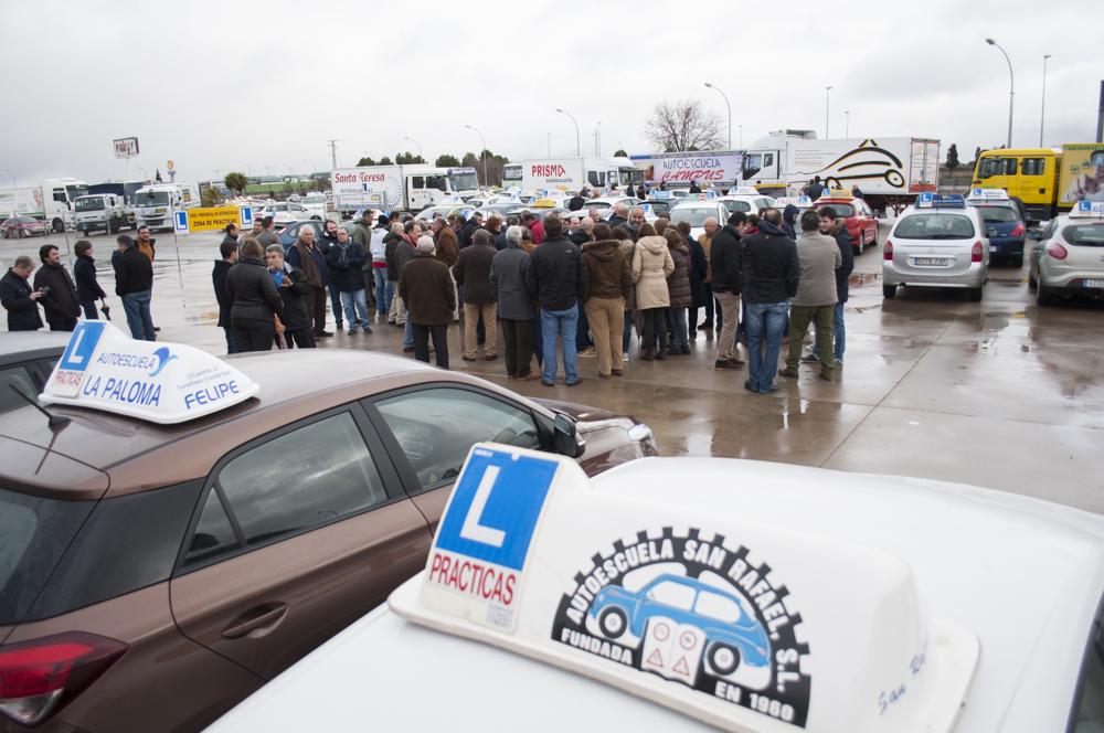 Manifestación Autoescuelas 3