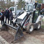 Zamora valora las inversiones efectuadas por el Ayuntamiento para reponer maquinaria obsoleta