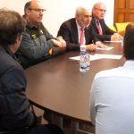 El subdelegado del Gobierno en Ciudad Real recomienda a los alcaldes de Campo de Montiel convocar juntas locales de seguridad