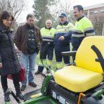 Pilar Zamora presenta en los Jardines del Torreón maquinaria por 177.000 euros para Limpieza y Jardines
