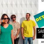 Bobenta acompaña a Detergente Líquido este sábado en la Sala Nice