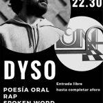 Puertollano: Pub Luna organiza el sábado el I spoken word a cargo del poeta oral y rapero Dyso