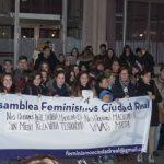 Rechazo a la violencia machista en Ciudad Real tras la muerte de una mujer en Mora (Toledo)