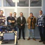 El ISFOC de Puertollano participa en el diseño de un sistema de drones para la protección de infraestructuras de puertos comerciales