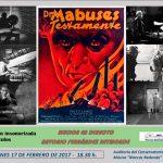 """Ciudad Real: Proyección con música en directo de """"El testamento del Doctor Mabuse"""""""
