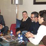 """Julián Nieva visitará el I.E.S. """"Sotomayor"""" para concretar algunas mejoras urgentes en infraestructuras"""