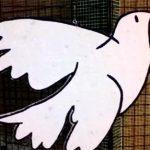 Una decena de colegios de la provincia participan en un montaje sobre el Día de la Paz