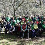 Puertollano: Medio centenar de senderistas se adentraron en las hoces del río Guadiana con el club Pozo Norte