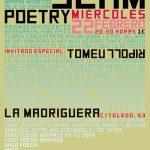 Ciudad Real: El mallorquín Tomeu Ripoll será el invitado en la velada Slam Poetry