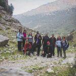 El colectivo Wilderness organizó este sábado una ruta por el valle de Otiñar