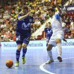 Ricardinho guía a Movistar Inter hacia las Semifinales con un hat-trick frente a Catgas Energía (6-5)