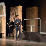 """500 estudiantes asisten en el Teatro Quijano a la representación de """"Historia de una escalera"""""""