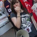 Manifestación huelga de educación 10