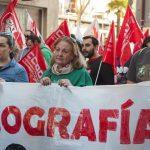 Manifestación huelga de educación 4