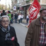 Manifestación huelga de educación 5