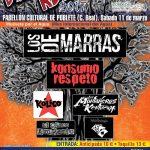 """""""Los de Marras"""" y """"Konsumo Respeto"""" encabezan el cartel del Festival Olmo Rock, este sábado 11 de marzo en Poblete"""